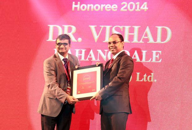 The Dynamic 100: Vishad Raghangdale, CIO of Electrotherm India receives CIO100 Award for 2014