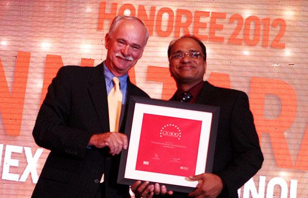 The Resilient 100: Nataraj N, Global CIO of Hexaware Technologies receives the CIO100 Award for 2012