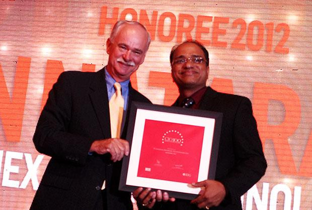 The Resilient 100: Nataraj N, Global CIO of Hexaware Technologies receives the CIO100 Award for 2012
