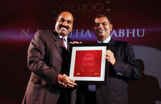 The Agile 100: Jayantha Prabhu, CTO, Essar Group receives the CIO100 Award for 2010.