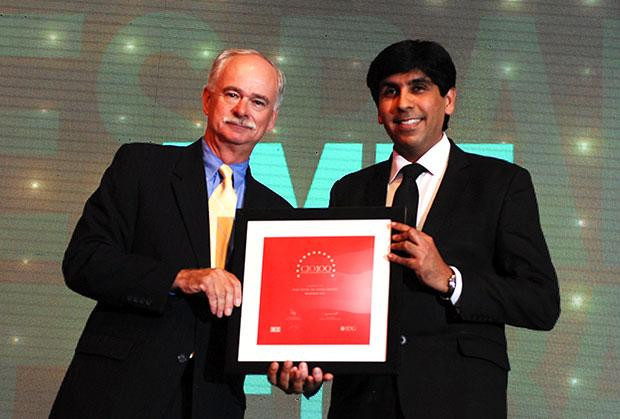 The Resilient 100: Amit Sethi, Sr. President and CIO of YES Bank receives the CIO100 Award for 2012