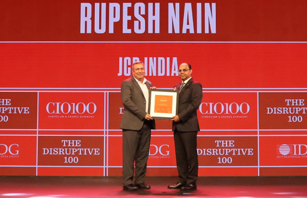 The Disruptive 100: Sanjay Kotha, Group Chief Information Officer, Adani Group receives the CIO100 Award for 2019