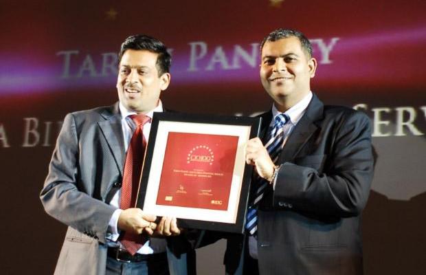 The Agile 100: Tarun Pandey, Senior VP-IT of Aditya Birla Financial receives the CIO100 Award for 2010