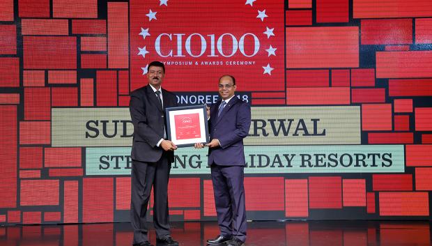 The Digital Architect: Sudesh Agarwal, CIO, Sterling Holiday Resorts, receives the CIO100 award for 2018
