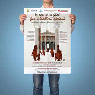 POSTER CHARITY FOR SYRIAN CHILDREN