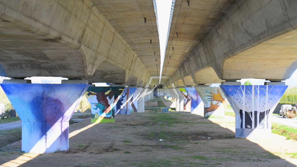 El pont, Montse Casacuberta, Sant Joan Despí i Bau