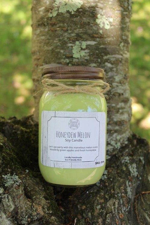 Honeydew Melon Soy Candle