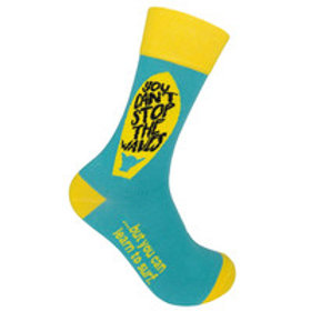 You Can't Stop The Waves Funatic Socks