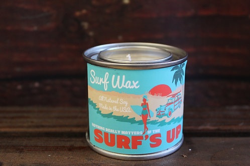 Surf's Up Surf Wax Candle