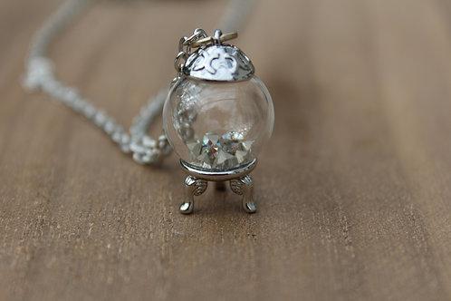 Swarovski Crystal Ball Necklace