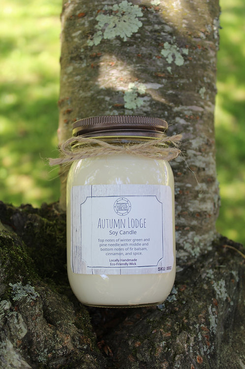 Autumn Lodge Soy Candle