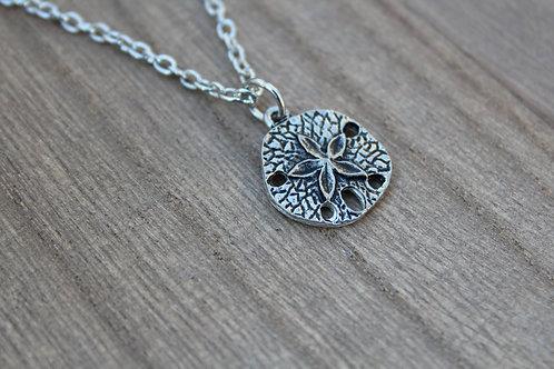Large Sand Dollar Necklace
