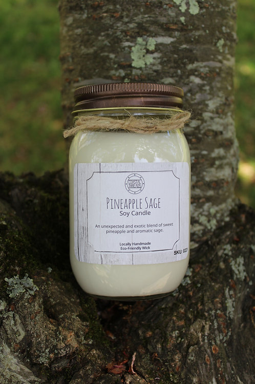 Pineapple Sage Soy Candle
