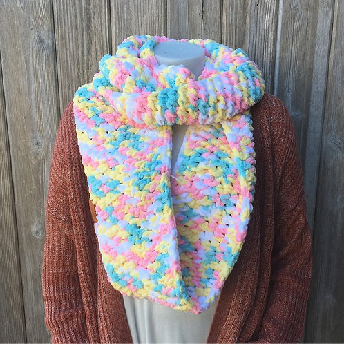 Pitter Patter Handmade Infinity Scarf