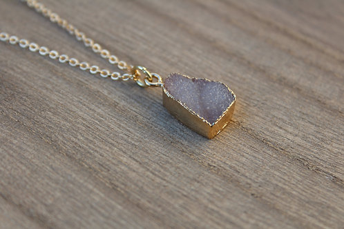 Rosey Stone Necklace