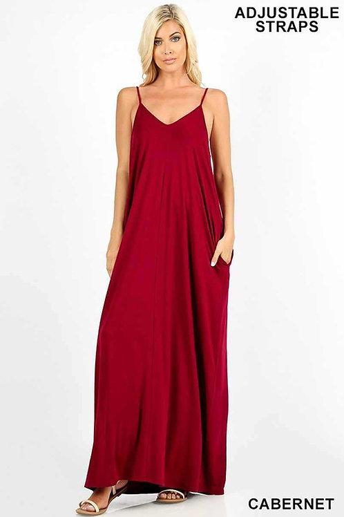 Easy Movin' Maxi Dress w/Pockets