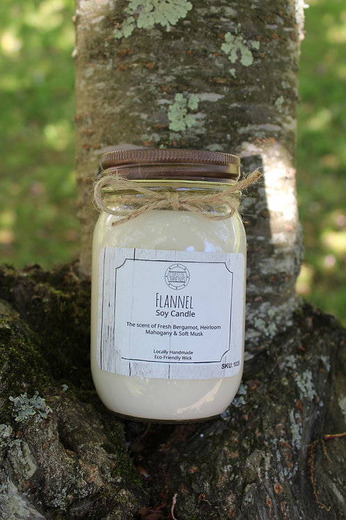 Flannel Soy Candle