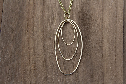 Jumping Through Hoops Necklace
