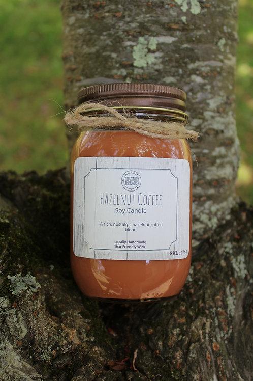 Hazelnut Coffee Soy Candle