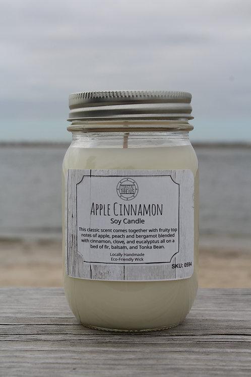 Apple Cinnamon Soy Candle