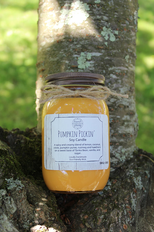 Pumpkin Pickin Soy Candle