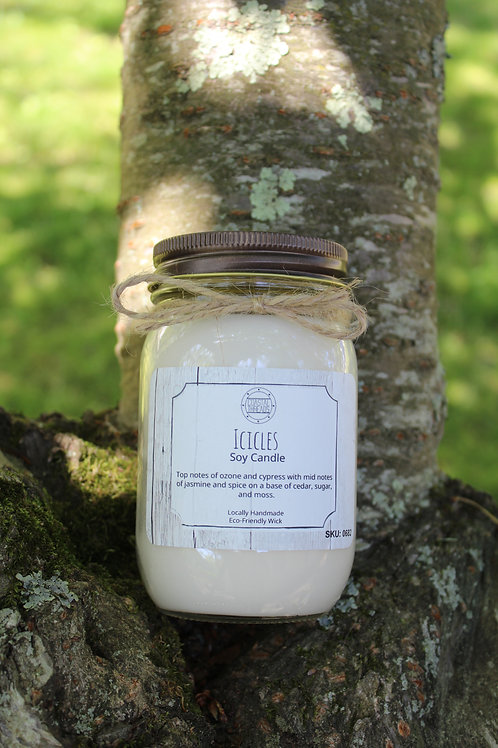 Icicles Soy Candle