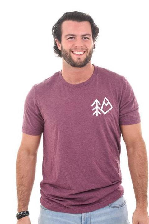 Maroon Wild+ Co T-Shirt