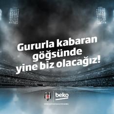 Beko, Beşiktaş Futbol Takımı'nın Ana Sponsoru Oldu