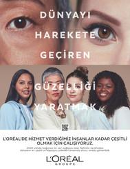"""L'Oréal Grup """"Dünyayı Harekete Geçiren Güzelliği Yaratmak"""" Vizyonunu Tüm Dünya ile Paylaşıyor"""
