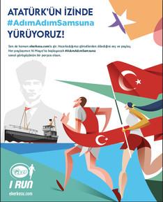 EKER I RUN ile Atatürk'ün İzinde #AdımAdımSamsuna