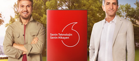 Vodafone Yeni Marka Vaadini ve Yeni Reklam Yüzünü Tanıttı