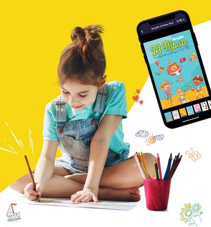 Dergilik 23 Nisan Ulusal Egemenlik ve Çocuk Bayramı'nı Özel Bir Dergi ile Kutluyor