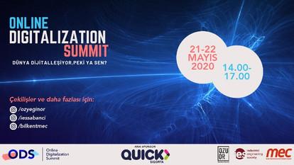 Online Digitalization Summit 21-22 Mayıs 2020 Tarihleri Arasında Gerçekleşecek