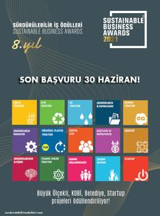 Sürdürülebilir İş Ödülleri 2021 için Başvuru Süresi Uzatıldı