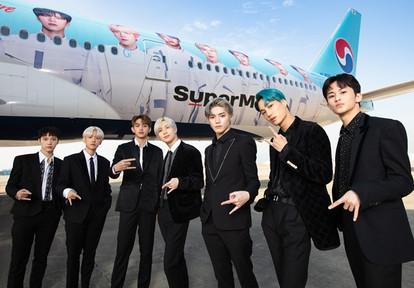 Kore Hava Yolları Küresel Marka Elçisi Olarak SuperM Grubu ile Anlaştı
