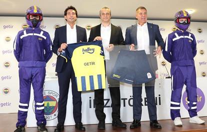 """Getir, Fenerbahçe Spor Kulübü'ne """"Zaman Sponsoru"""" Olarak Desteğini Sürdürecek"""