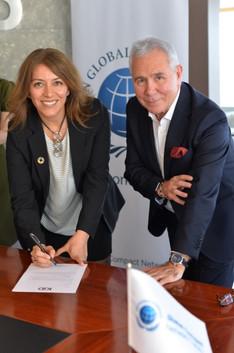 Kurumsal İletişimciler Derneği, BM Küresel İlkeler Sözleşmesi'ne İmza Attı