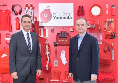 Vodafone 3 Yıl İçinde E-Ticaret Alanındaki En Büyük 3 Oyuncudan Biri Olmayı Hedefliyor
