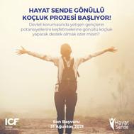"""ICF Türkiye """"Hayat Sende"""" Projesini Hayata Geçiriyor"""