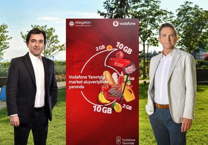 """Vodafone """"Süpermarket Yanımda"""" ile Ayda 100 Bin Alışveriş Hedefliyor"""