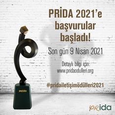 PRİDA İletişim Ödülleri 2021'e Başvurular Başladı