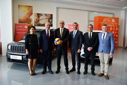 Otokoç 2. El, Türkiye Voleybol Federasyonu Milli Takımlar Resmi Sponsoru Oldu