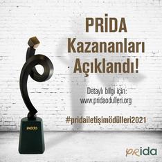 PRİDA İletişim Ödülleri'nin Kazananları Açıklandı