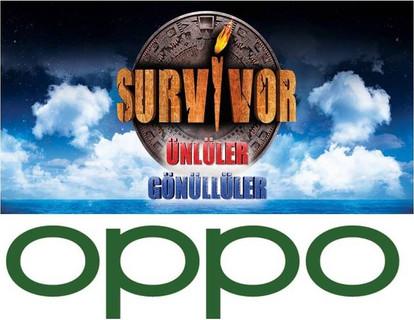 """OPPO """"Survivor 2020"""" Yarışmasının Ana Sponsoru Oldu"""