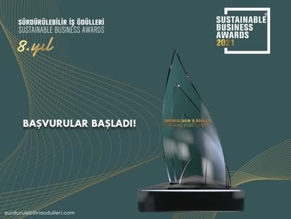 Sürdürülebilir İş Ödülleri 2021 için Başvurular Başladı