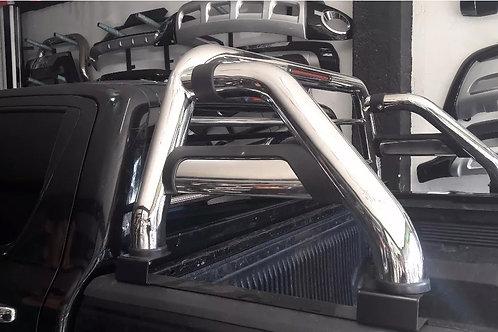 Barra Antivuelco Acero Inox. Ford Ranger 2012-2018 Nuevas