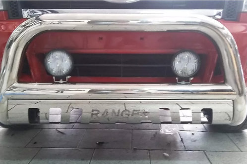 Defensa De Acero Inox. Ford New Ranger 2012-2015 Oferta!!