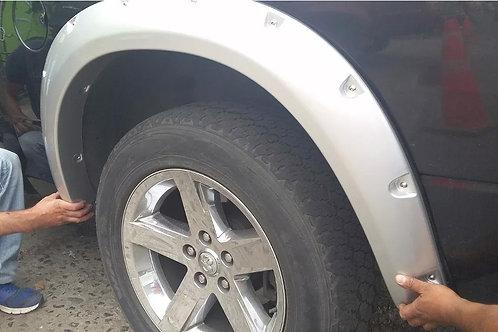 Extenciones De Tapabarros Dodge Ram 1500 Modelo Rally