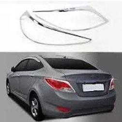 Bisel Cromado Foco Hyundai Accent Rb Nuevos Embalados