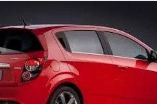 Aletas Bota Aguas Chevrolet Sonic Hachback Sport
